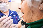 Testing during coronavirus outbreak