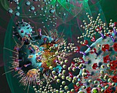 Covid-19 coronavirus vaccine, illustration