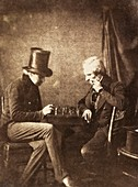 The Chess Players, 19th century