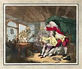 Doctor Dismissing Death, 18th century