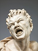 Sculpture of the satyr Marsyas, 17th century