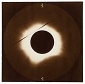 Total solar eclipse, 1883