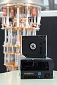 First quantum computing-safe tape drive