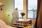 Lonely elderly patient