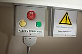 Alarm buttons on a hospital ward
