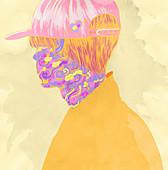 Psychedelic drugs, illustration