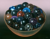 Bowl of multiverses, conceptual illustration