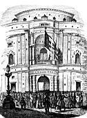 Turin parliament during Italian Revolution of 1848