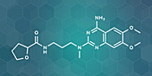 Alfuzosin benign prostate hyperplasia drug molecule