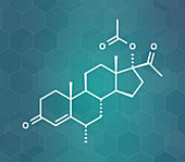 Medroxyprogesterone acetate progestin hormone drug