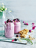 Hgh fibre berry smoothie