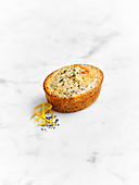 Citrus and poppy seed friands