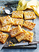 Lemon Butter Almond Slice