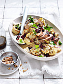 Chicken, Burghul and Pomegranate Salad