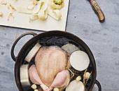 Thai chicken stock