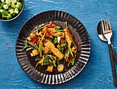 Thai tofu with ginger