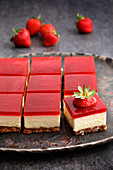 Strawberry cheesecake