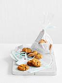 Cornish fairings (English ginger biscuits)
