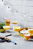 Frozen Passionsfrucht-Ananas-Margaritas
