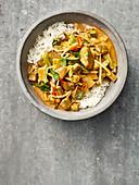 Red Thai venison curry