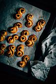 Saffron Cinnamon Buns
