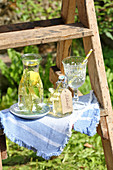 Meadowsweet water and syrup for treating headaches