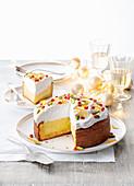 Lemon Curd-Baiser-Torte