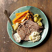 Tafelspitz (boiled beef) with horseradish sauce