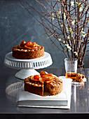 Gluten-Free Glace Fruit Cakes