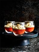 Blutorangen-Amaretti-Trifles