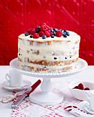 Panettone naked cake