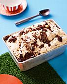 Cookies and cream semifreddo