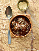 Mole Poblano (turkey in a chocolate sauce, Mexico)