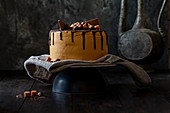 Chocolate and salted caramel cake Nov