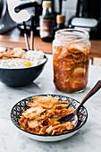 Kimchi (Korean side dish)