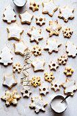 Gluten Free Sugar Cookies with Royal Icing Decoration