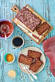 Buckwheat and chocolate cake