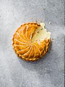 Croque-Monsieur-Galette mit Schinken und Käse