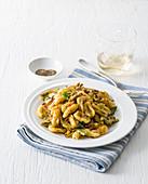 Gnocchetti mit Artischocken-Bottarga-Sauce