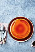 Haselnuss-Creme-Caramel aus der Mikrowelle