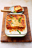 Ricotta and pumpkin lasagne