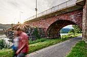 Römerbrücke, Trier, Rhineland-Palatinate, Germany