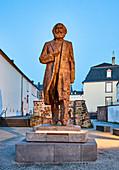 Karl-Marx-Statue, Trier, Rhineland-Palatinate, Germany