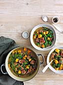 Jamaican Pepperpot Beef Stew