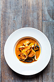 Bandol bouillabaisse with Rouille and Croutons