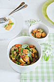Spring vegetable curry