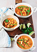 Sweet Potato Coconut and Green Bean Curry