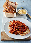 Tuscan Baked Beans