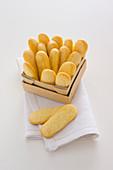 Lemon sponge fingers