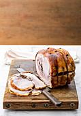 Porchetta di Ariccia (roast pork, Italy)
